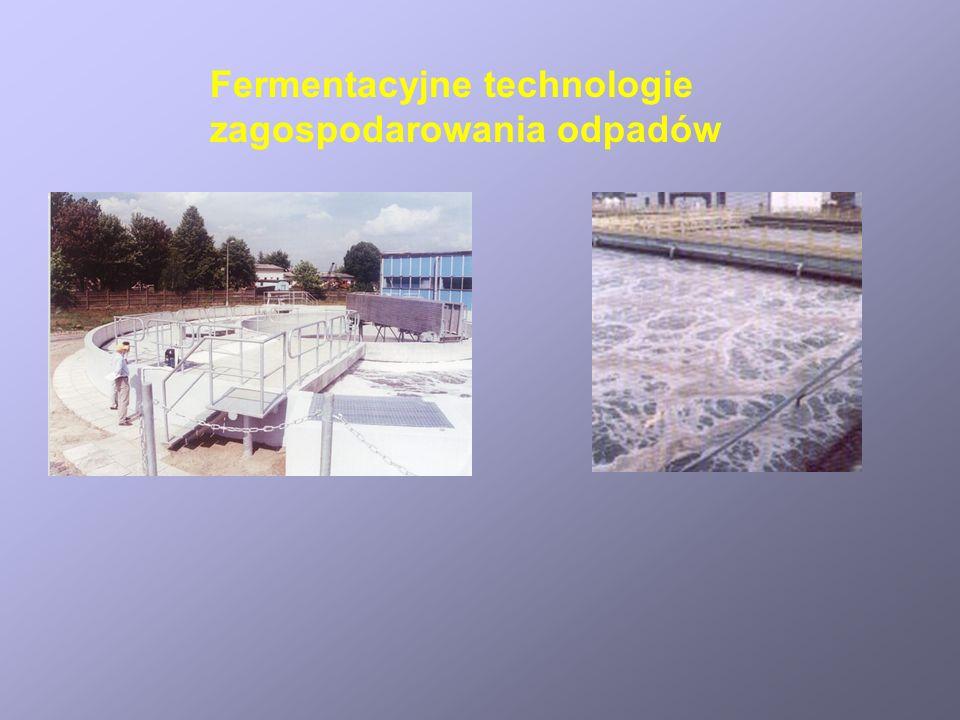 Fermentacyjne technologie