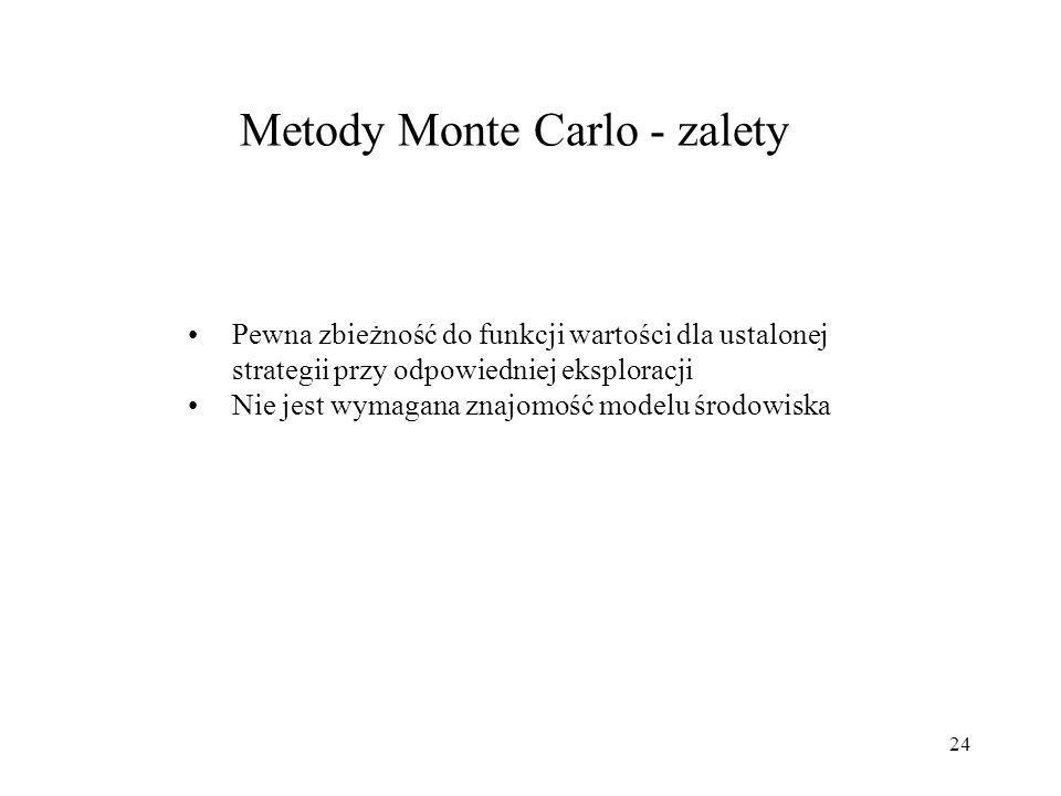 Metody Monte Carlo - zalety