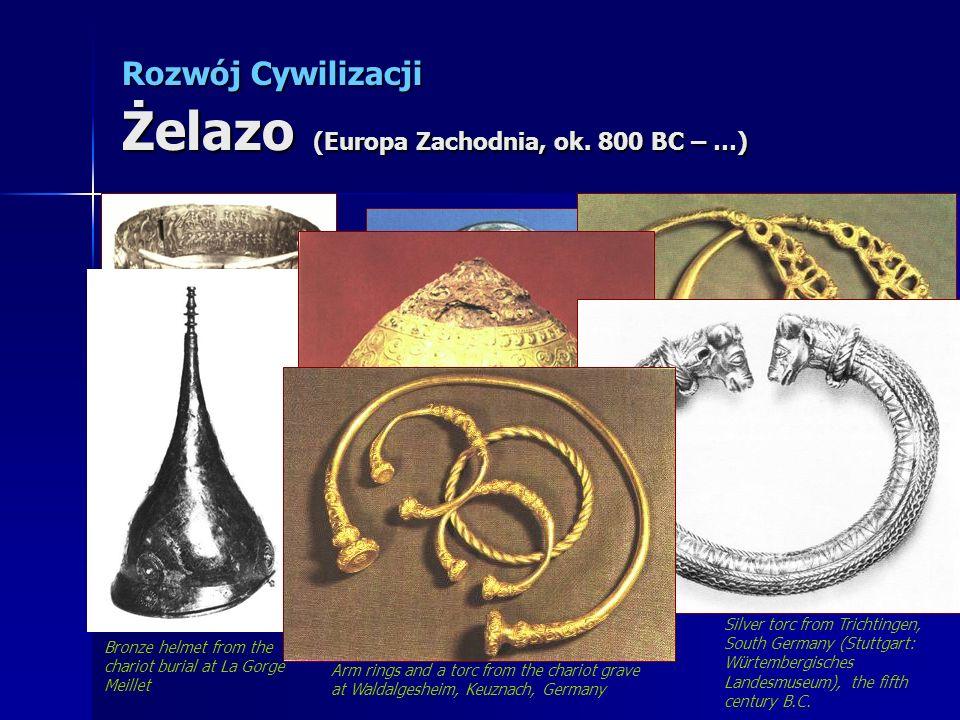 Rozwój Cywilizacji Żelazo (Europa Zachodnia, ok. 800 BC – …)