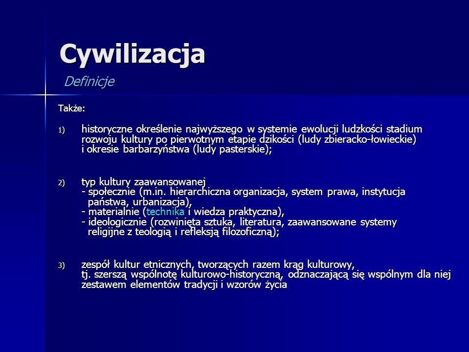 Cywilizacja Definicje
