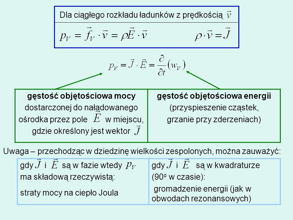 gęstość objętościowa mocy gęstość objętościowa energii