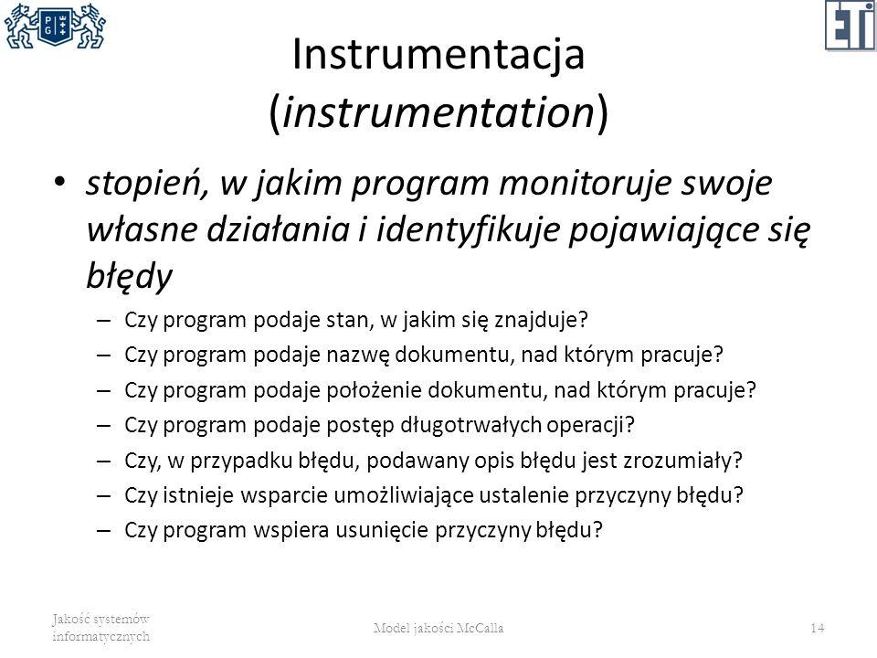 Instrumentacja (instrumentation)