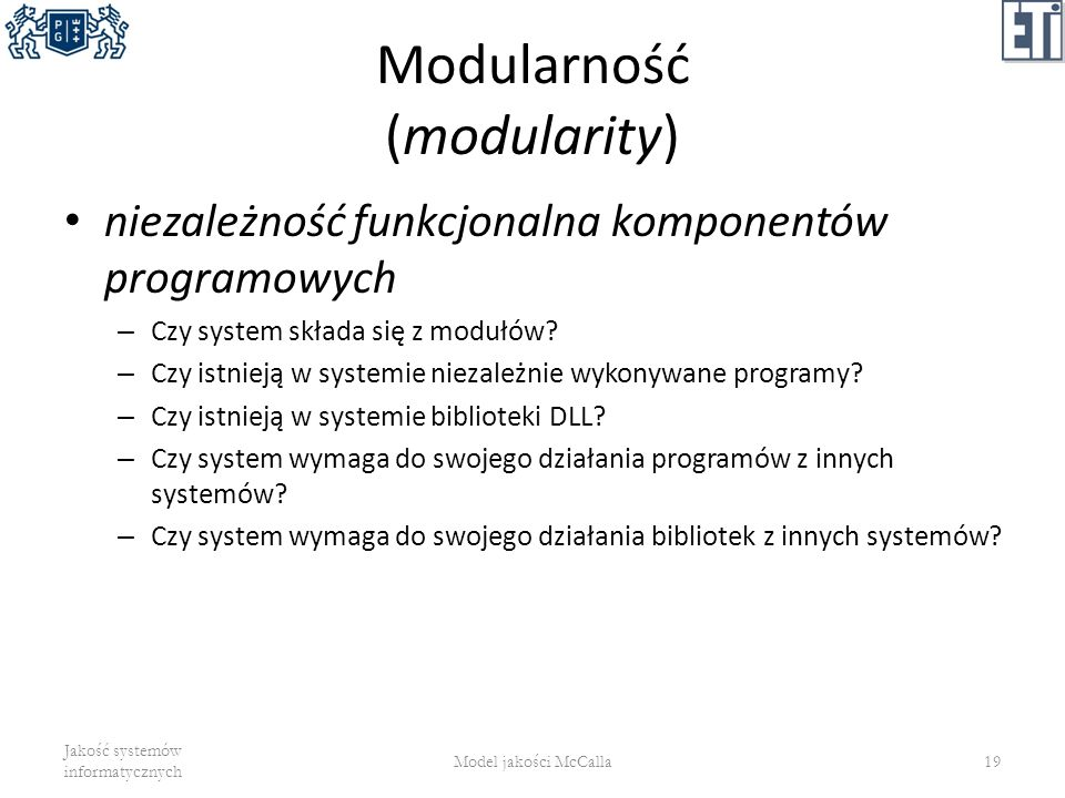 Modularność (modularity)