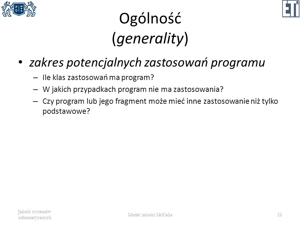 Ogólność (generality)
