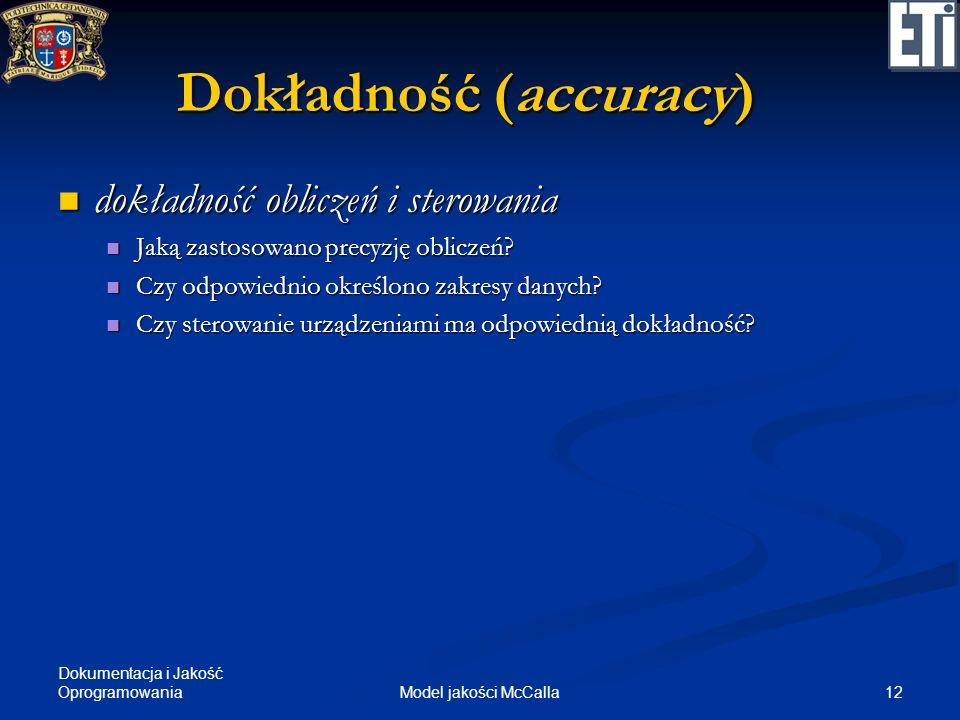 Dokładność (accuracy)