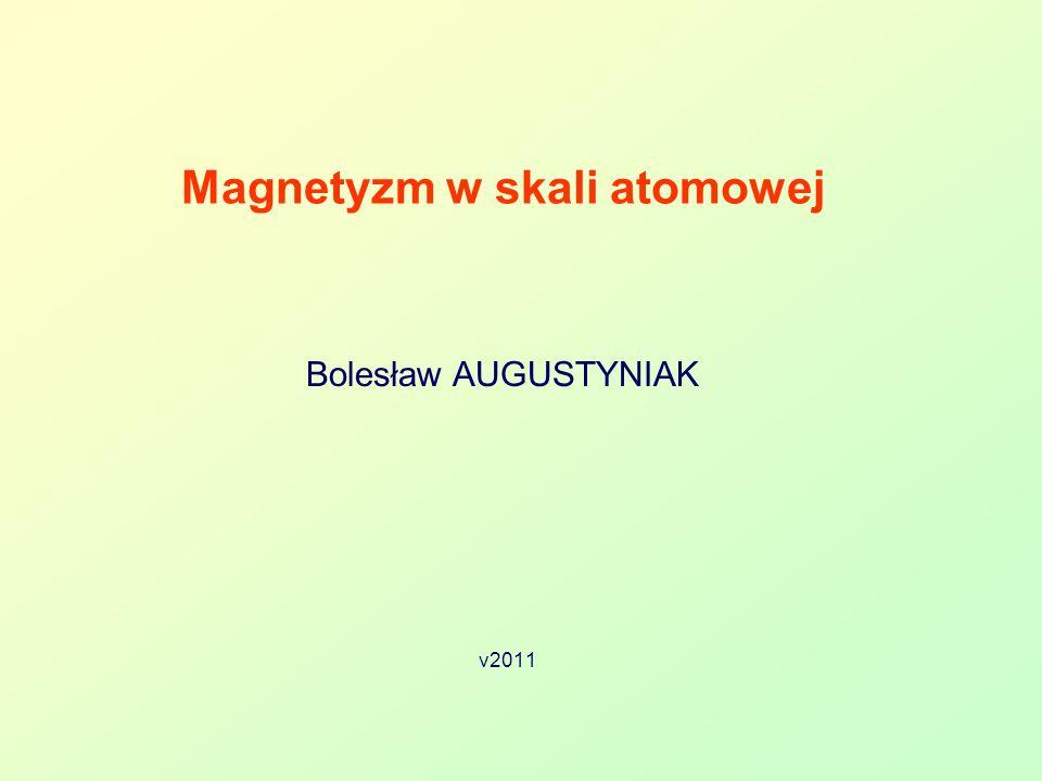 Magnetyzm w skali atomowej