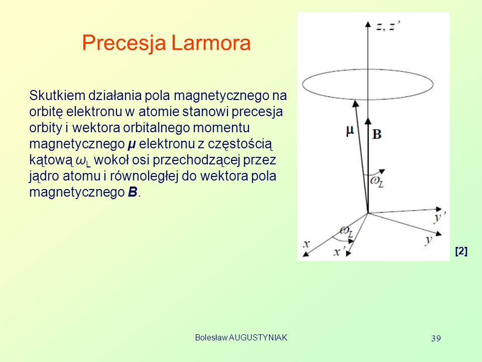 Precesja Larmora