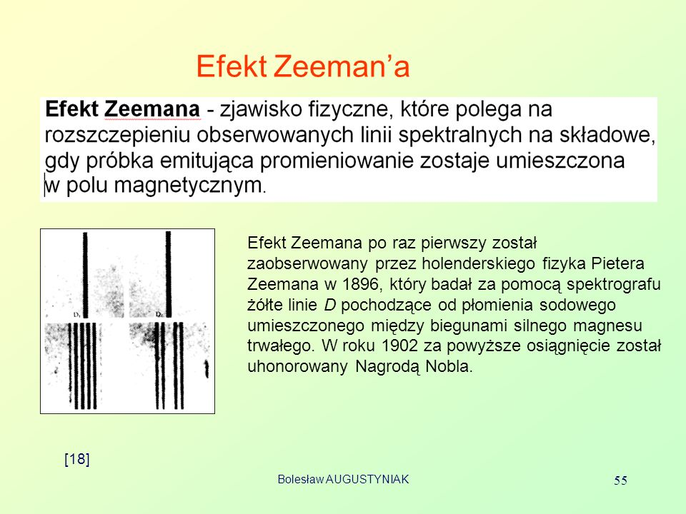 Efekt Zeeman'a