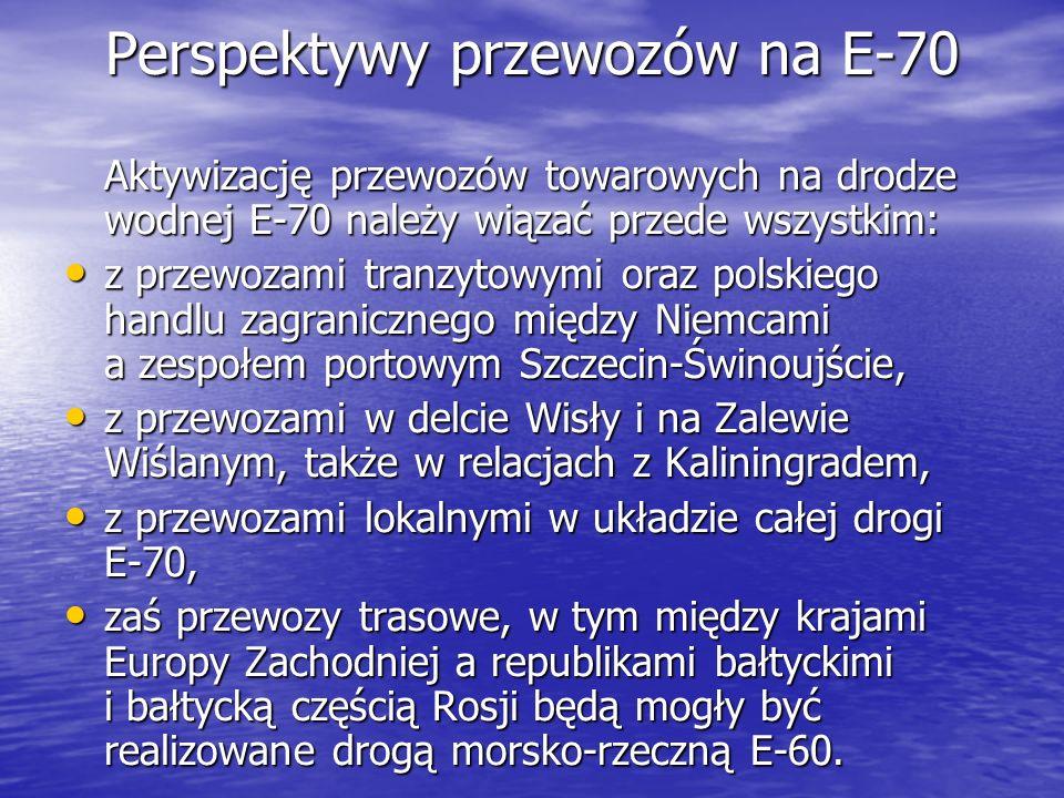 Perspektywy przewozów na E-70
