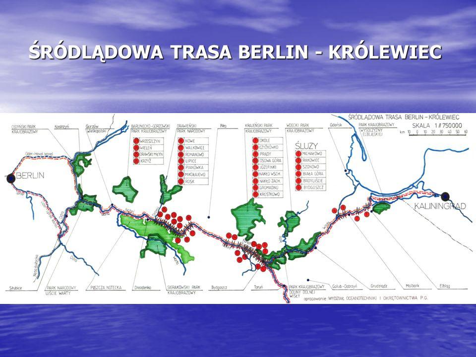 ŚRÓDLĄDOWA TRASA BERLIN - KRÓLEWIEC