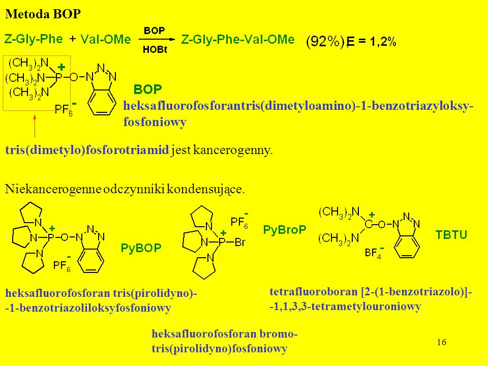 heksafluorofosforantris(dimetyloamino)-1-benzotriazyloksy- fosfoniowy