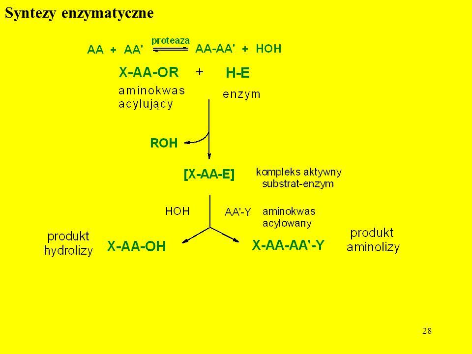 Syntezy enzymatyczne