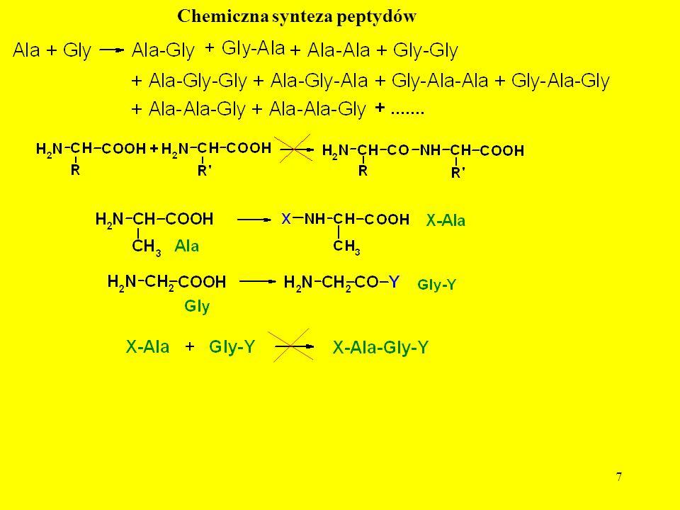 Chemiczna synteza peptydów