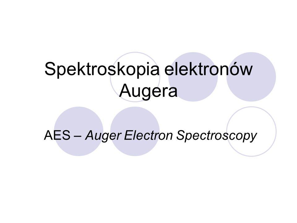 Spektroskopia elektronów Augera