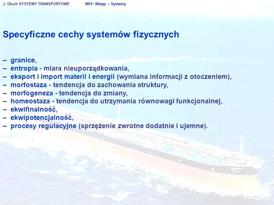 Specyficzne cechy systemów fizycznych