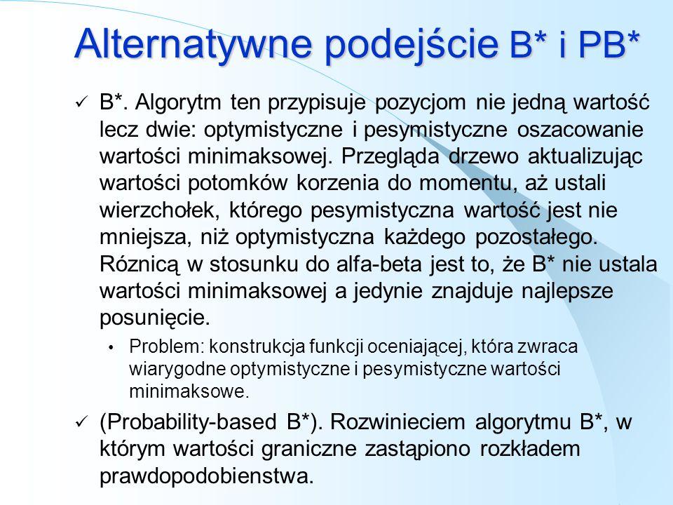 Alternatywne podejście B* i PB*