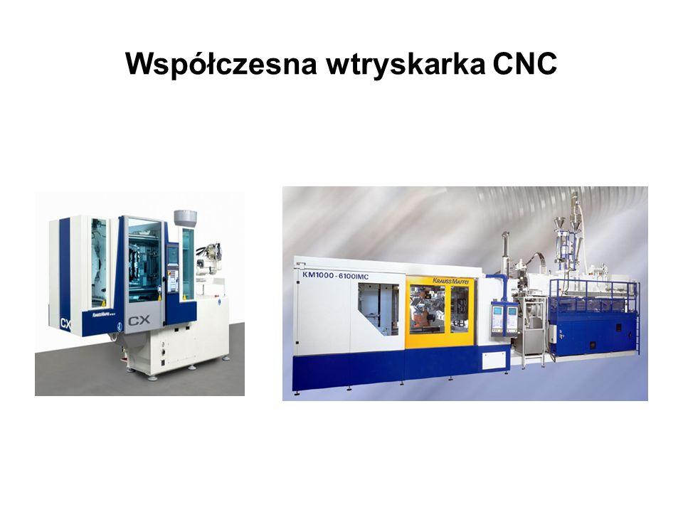 Współczesna wtryskarka CNC