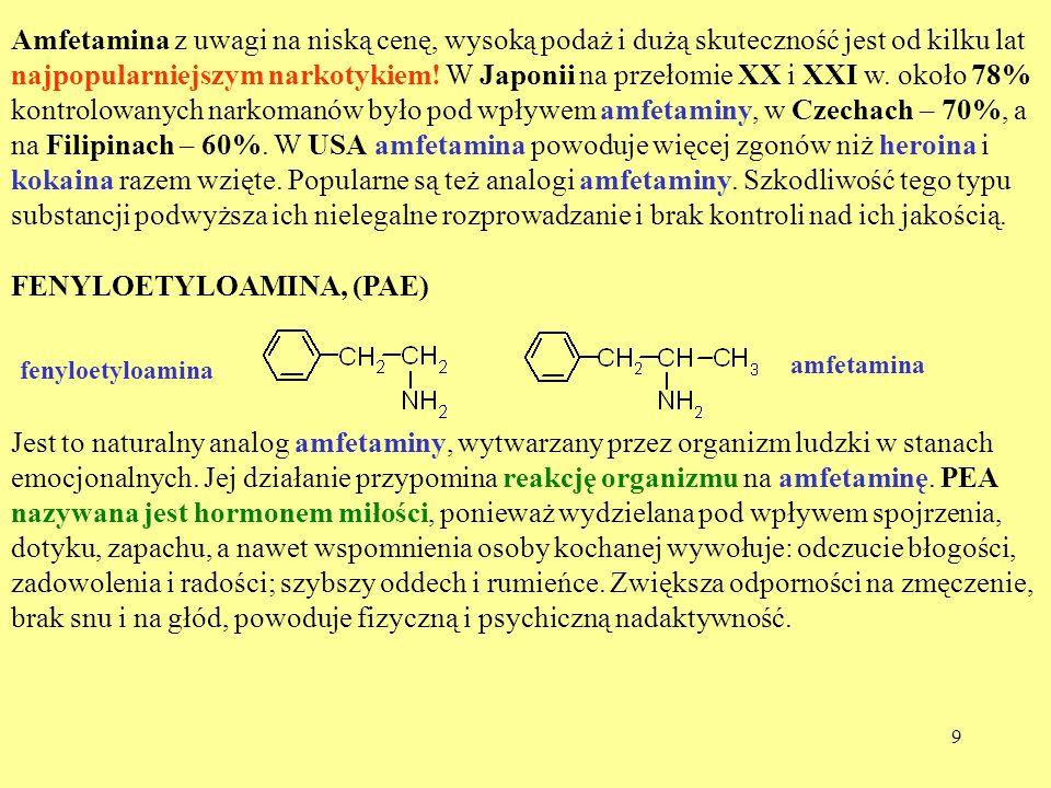 FENYLOETYLOAMINA, (PAE)