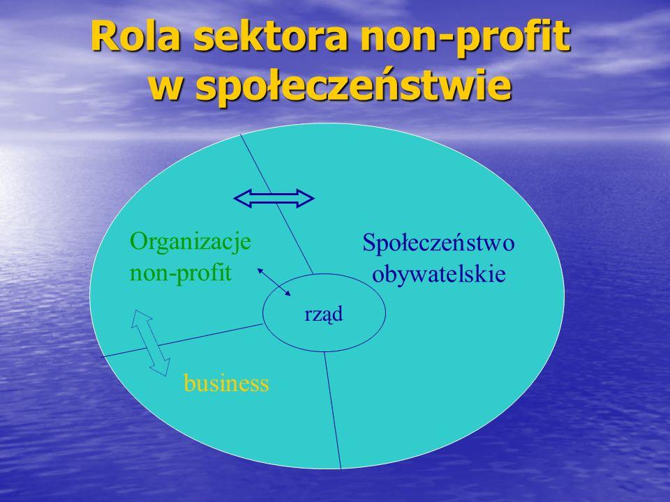 Rola sektora non-profit w społeczeństwie