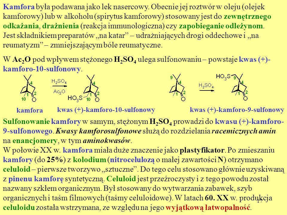 Kamfora była podawana jako lek nasercowy