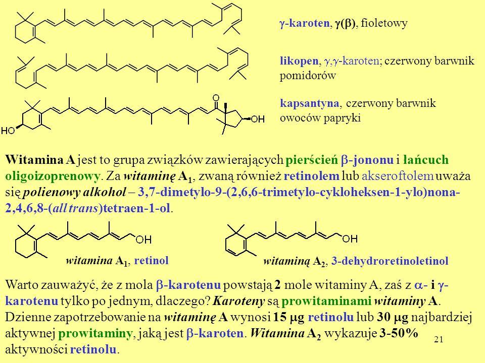 g-karoten, g(b), fioletowy