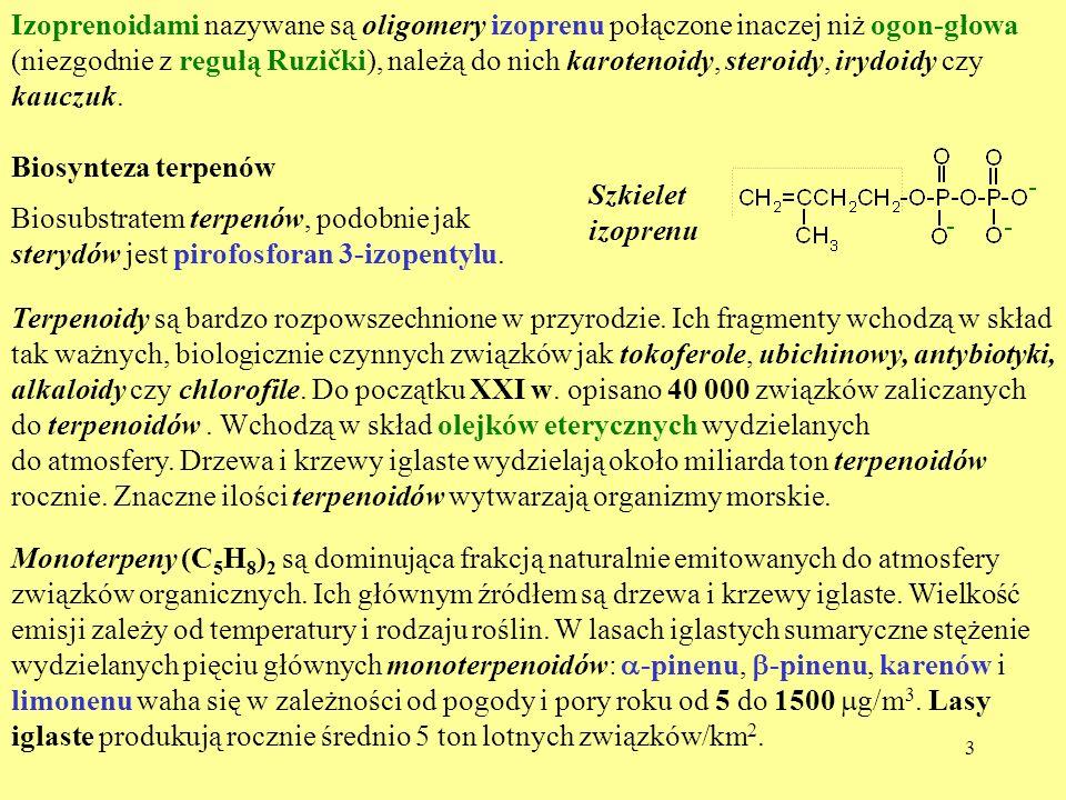 izoprenoidy steroidy