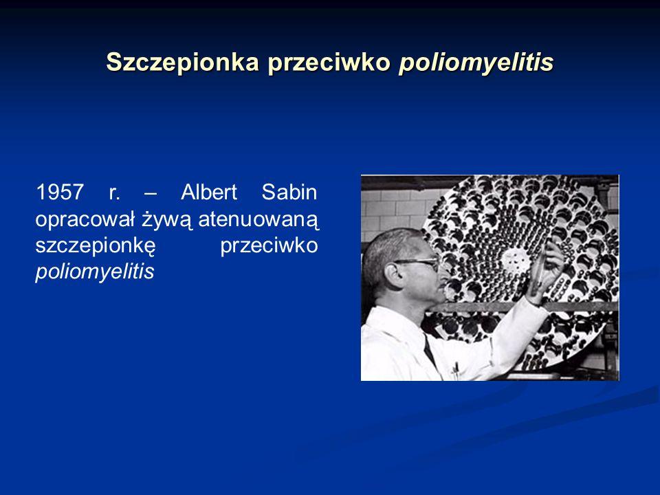 Szczepionka przeciwko poliomyelitis