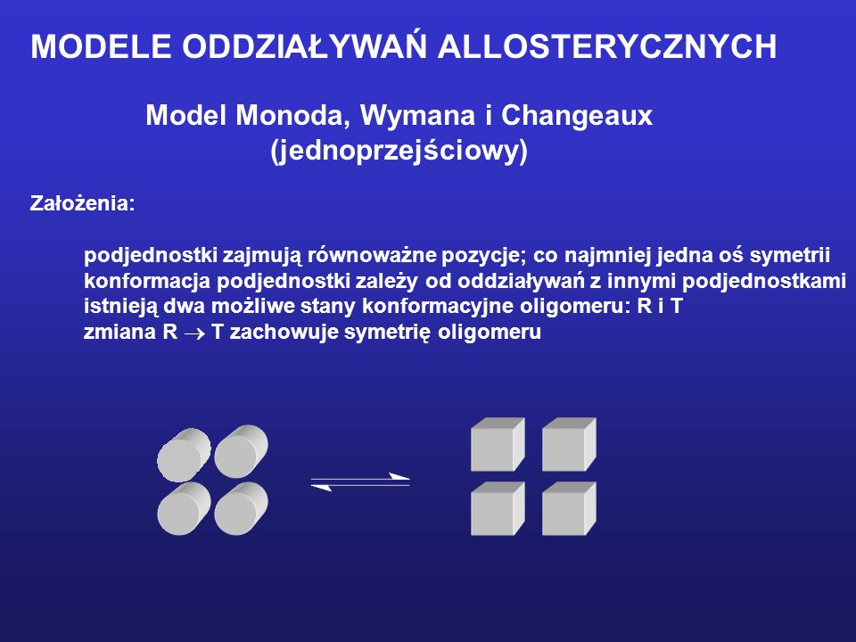 Model Monoda, Wymana i Changeaux