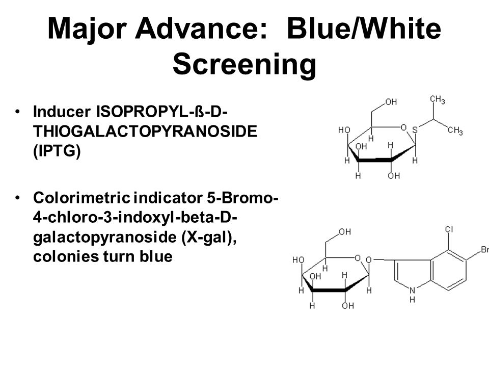 Major Advance: Blue/White Screening