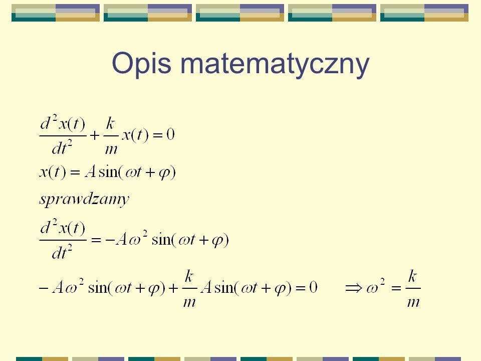 Opis matematyczny