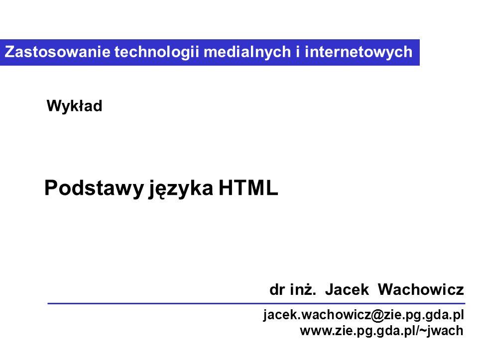 Technologie prezentacji medialnych, © 2006 Igor Garnik