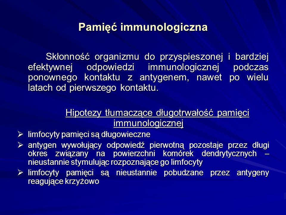 Pamięć immunologiczna