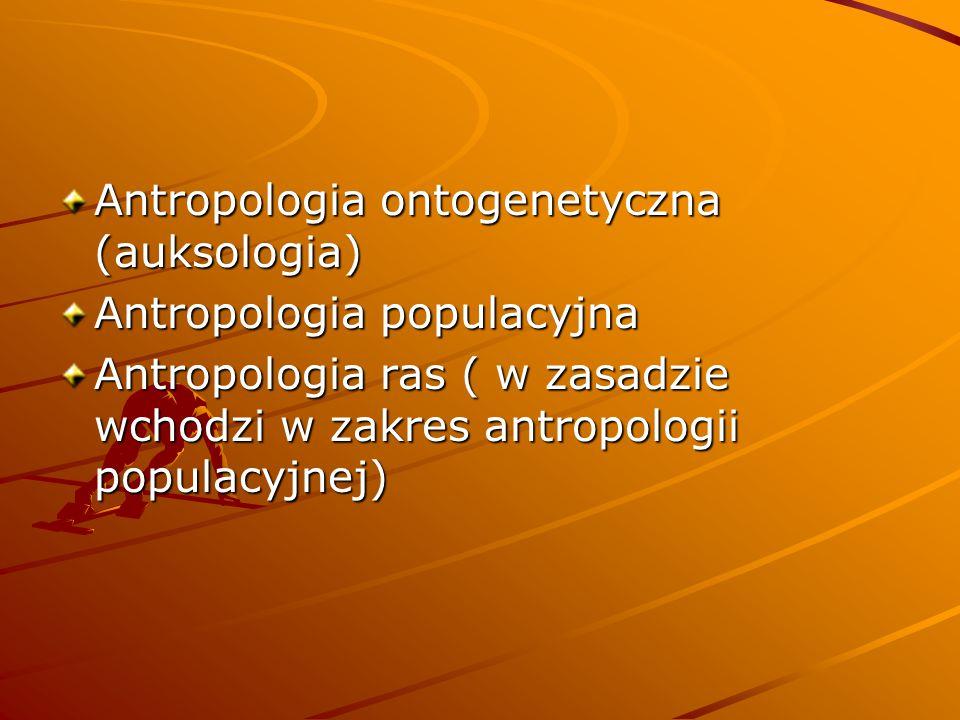 Antropologia ontogenetyczna (auksologia)