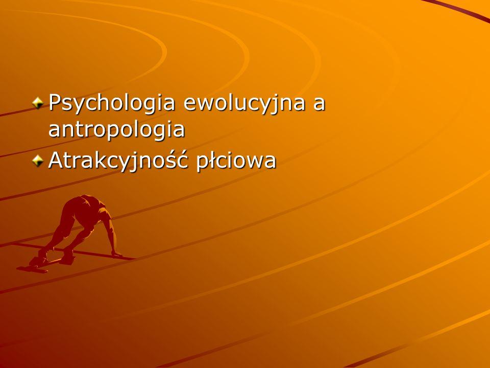 Psychologia ewolucyjna a antropologia