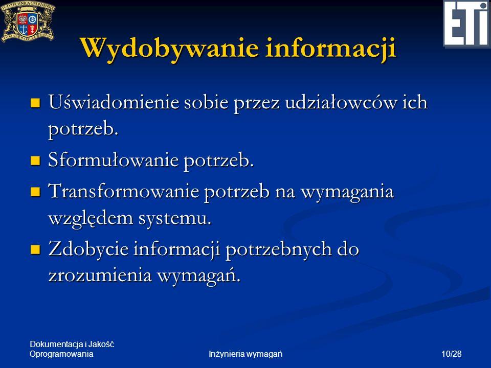 Wydobywanie informacji