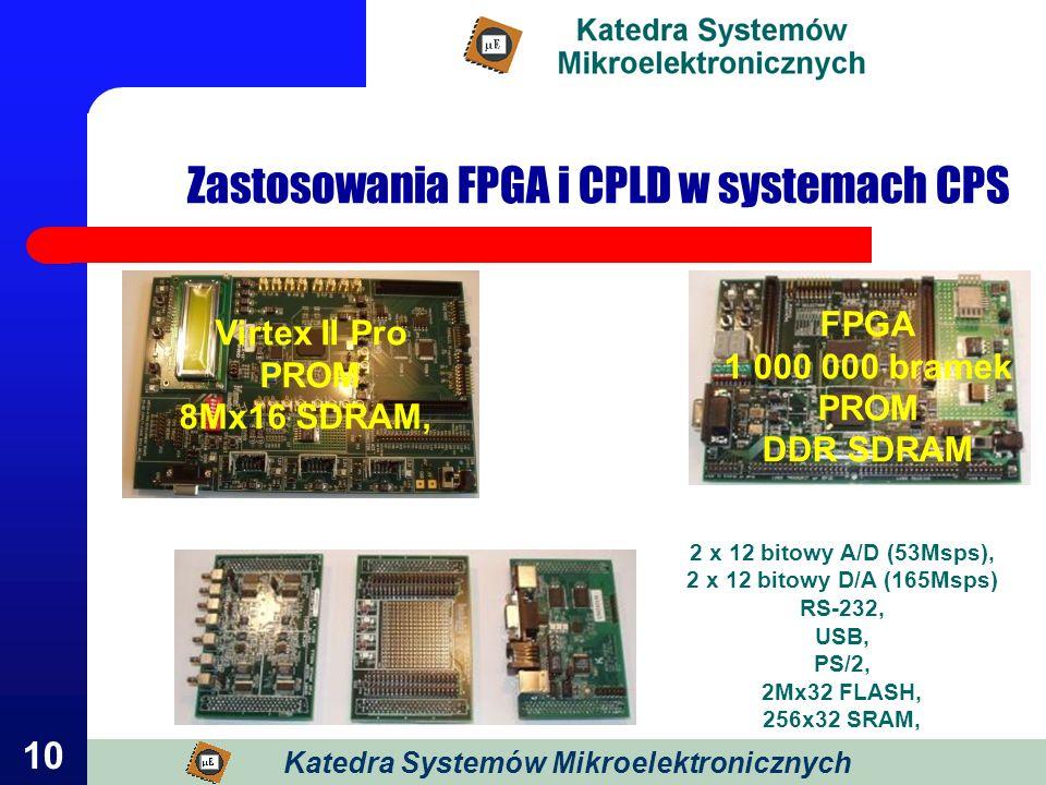 Zastosowania FPGA i CPLD w systemach CPS