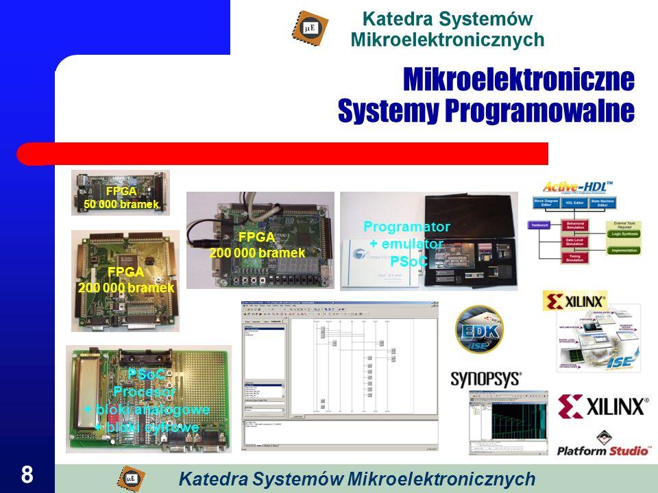 Mikroelektroniczne Systemy Programowalne