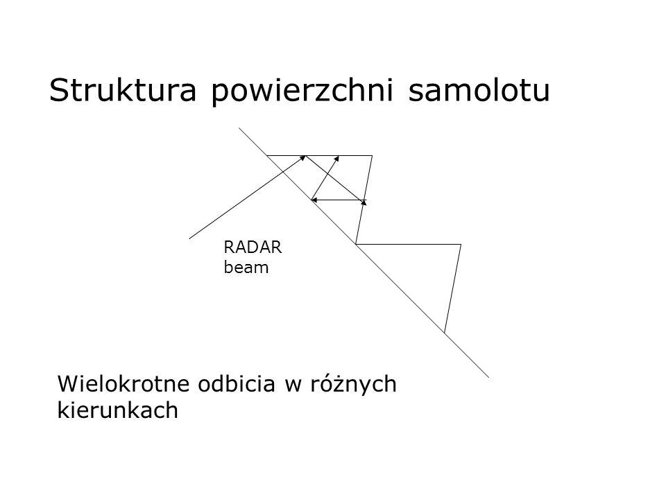 Struktura powierzchni samolotu