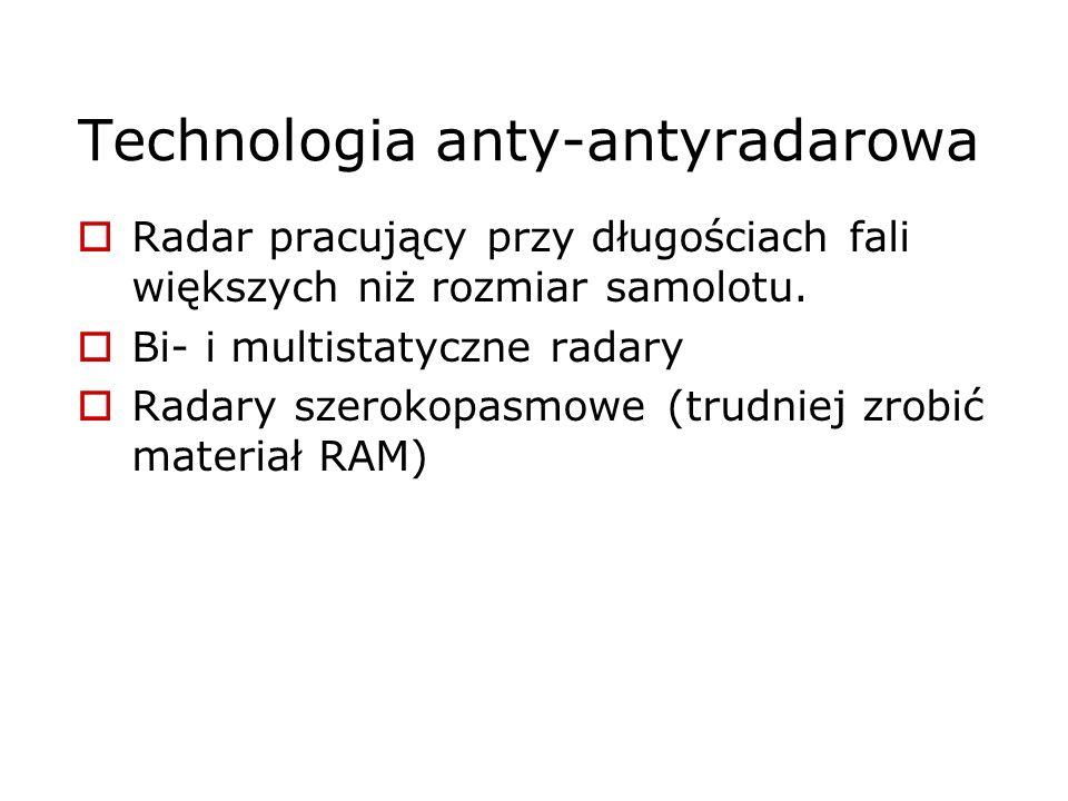 Technologia anty-antyradarowa