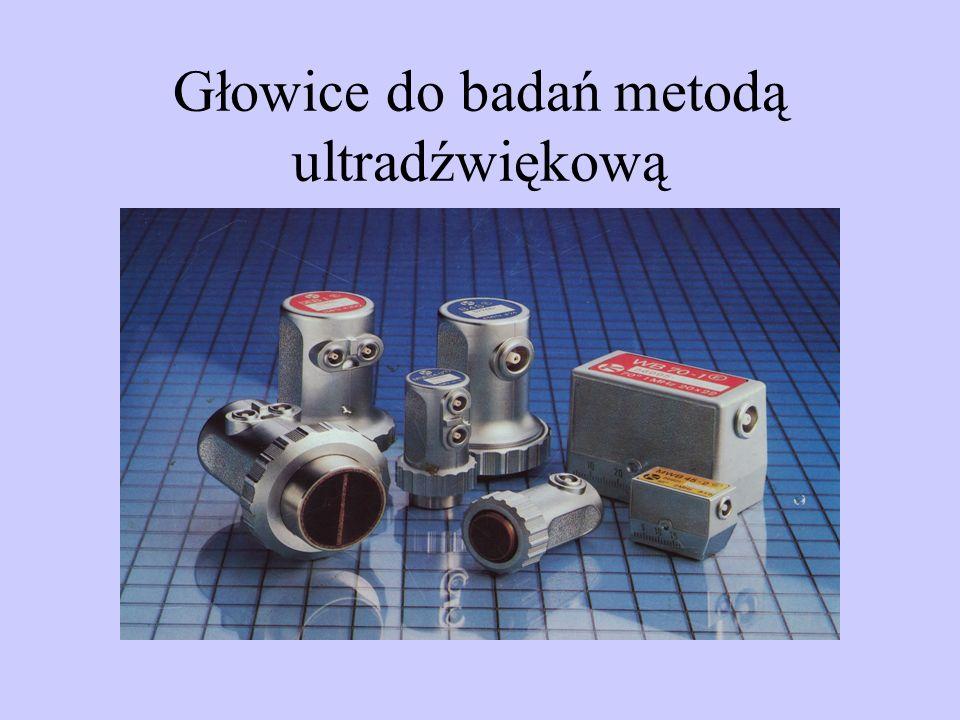 Głowice do badań metodą ultradźwiękową