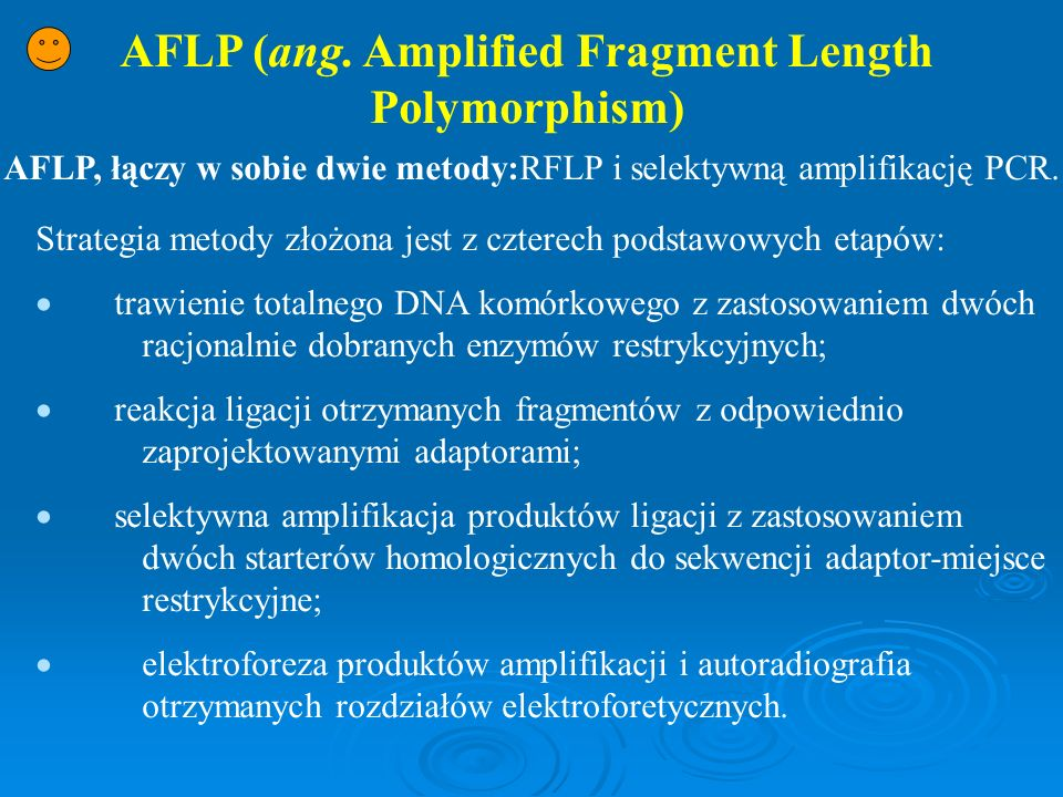 AFLP (ang. Amplified Fragment Length Polymorphism)