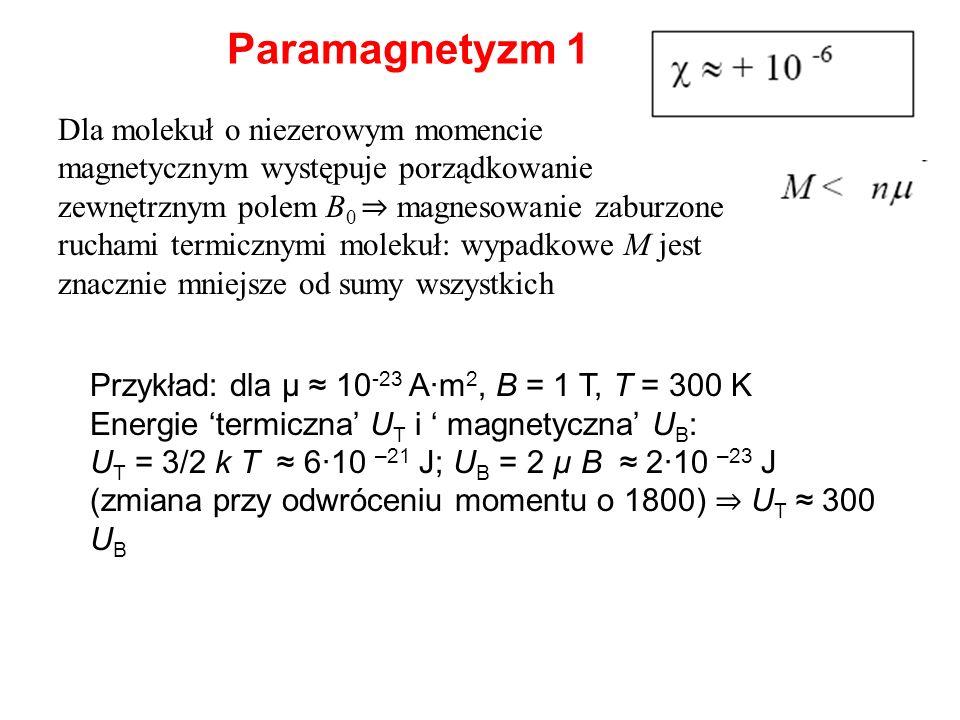 Paramagnetyzm 1