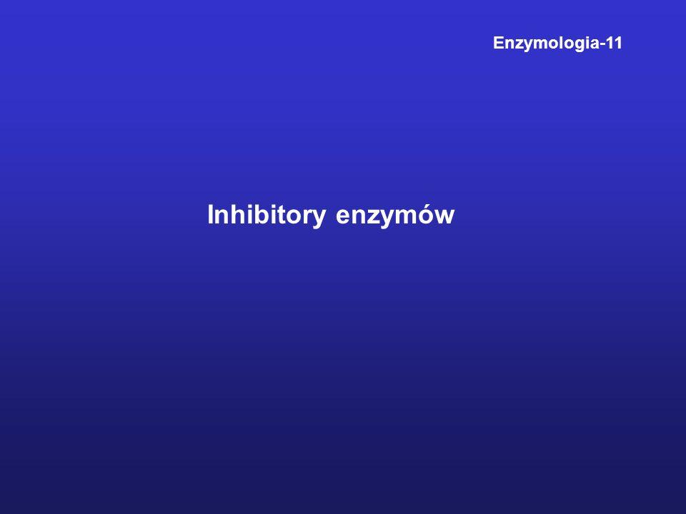 Enzymologia-11 Inhibitory enzymów