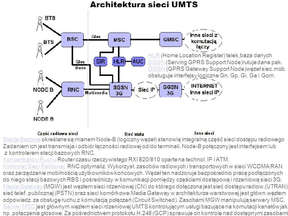 Architektura sieci UMTS