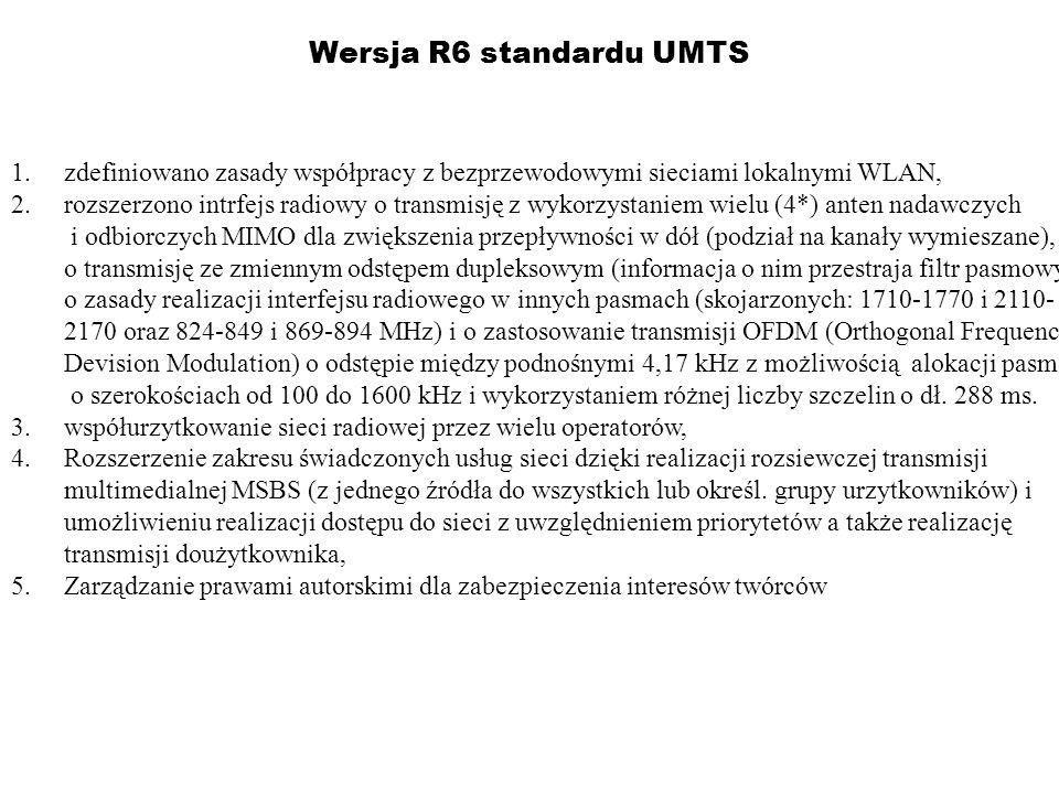 Wersja R6 standardu UMTS