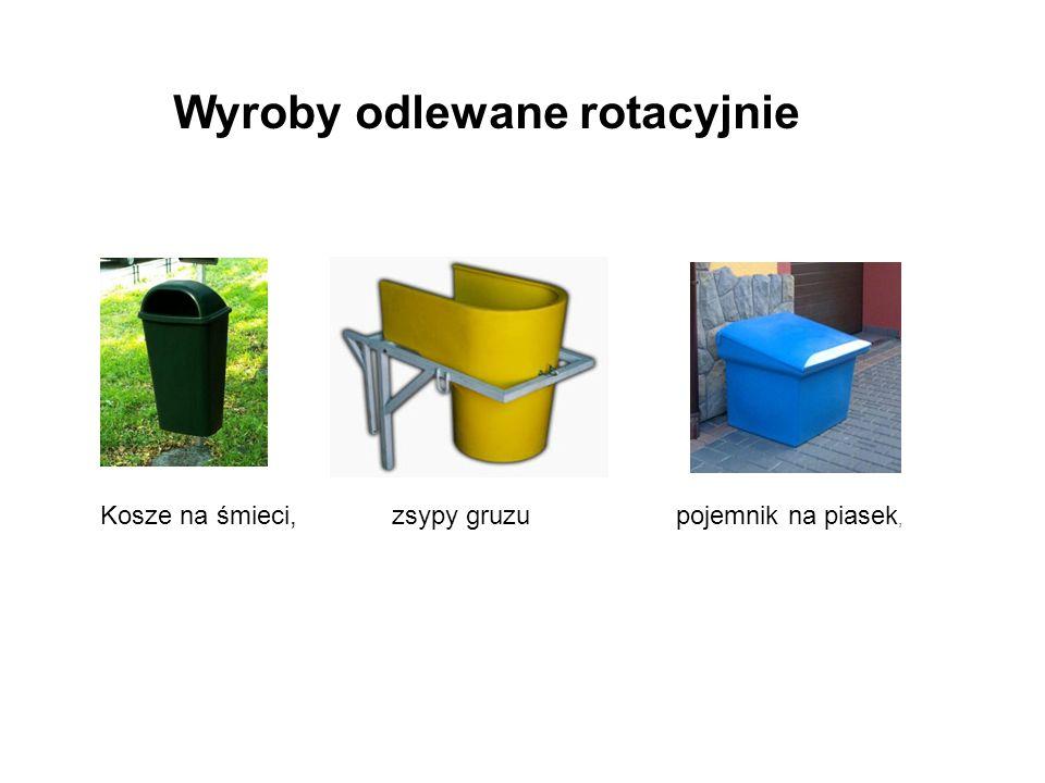 Wyroby odlewane rotacyjnie