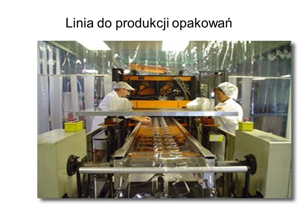 Linia do produkcji opakowań