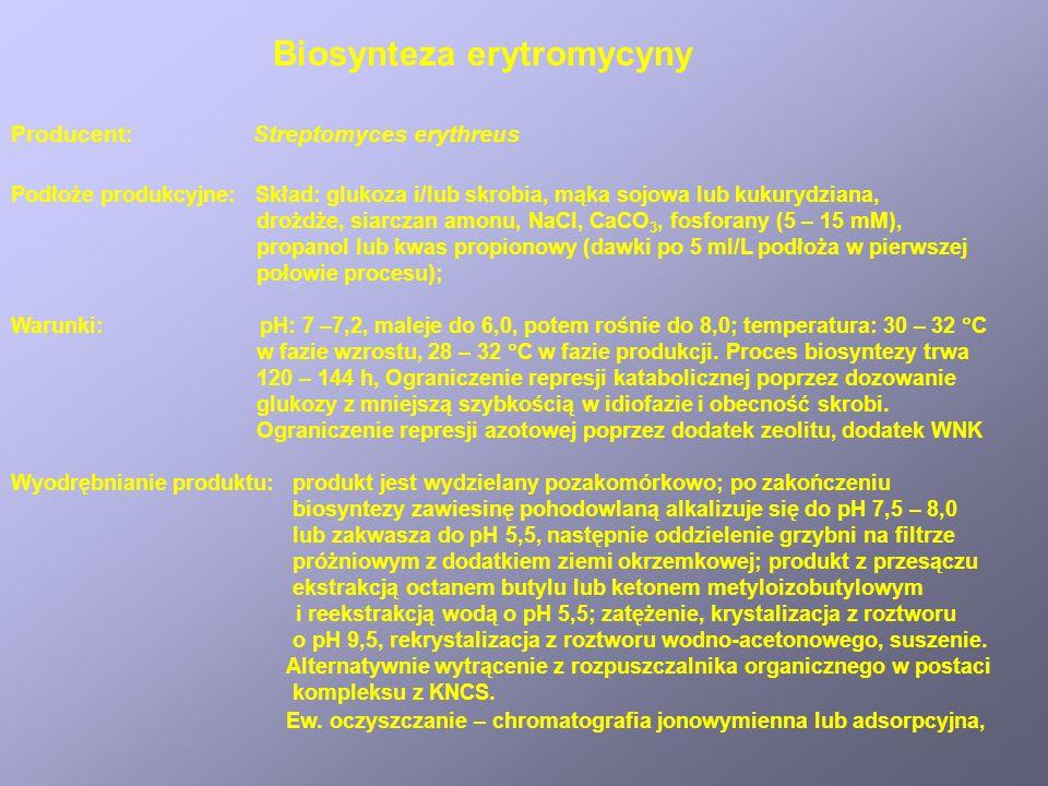 Biosynteza erytromycyny