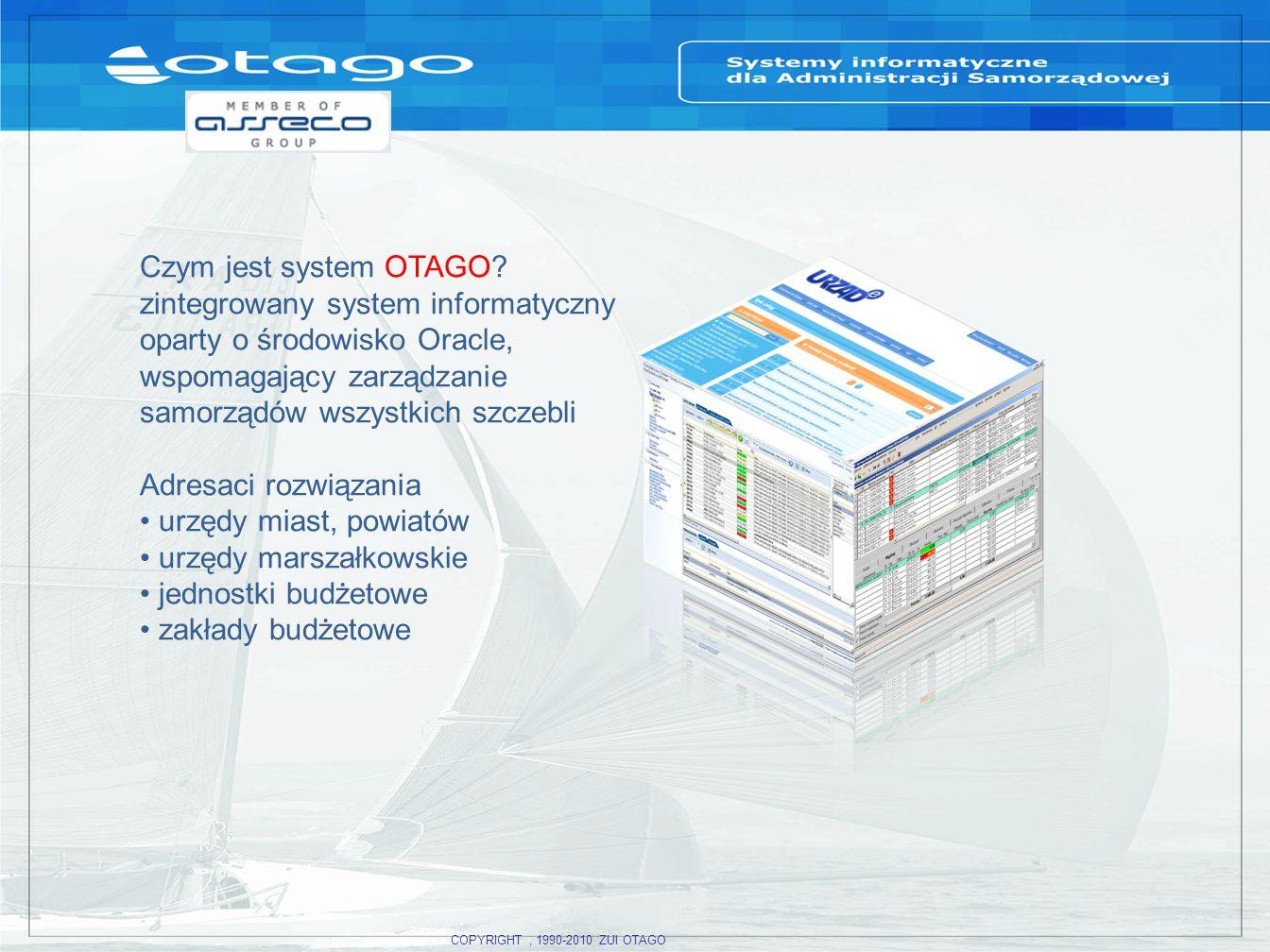 zintegrowany system informatyczny oparty o środowisko Oracle,