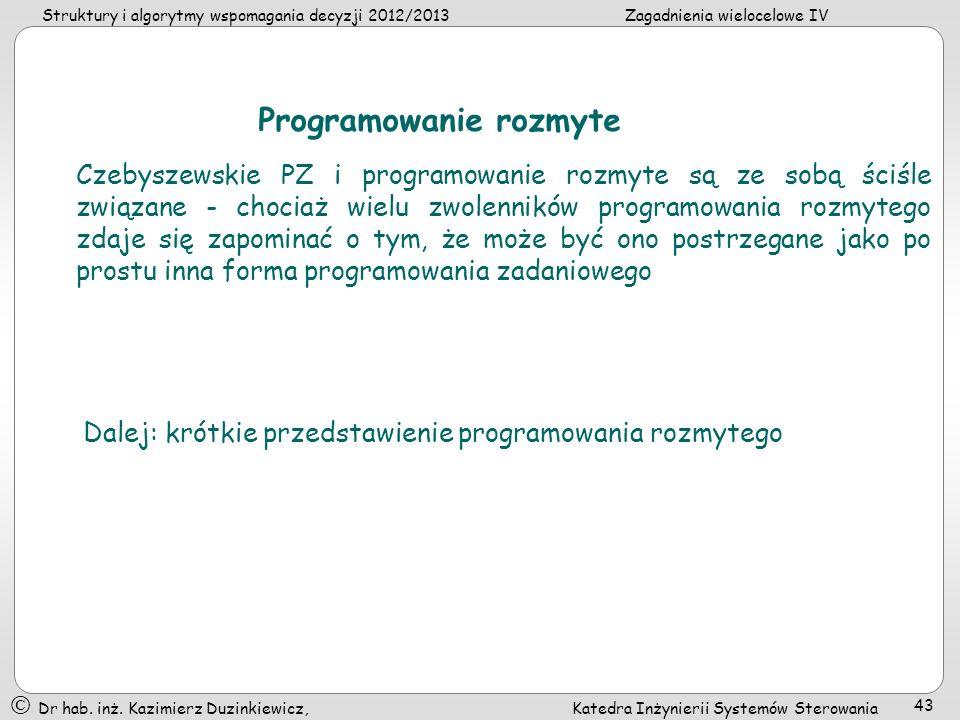 Programowanie rozmyte